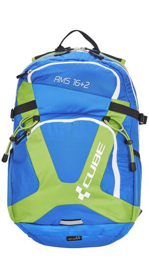 Cube AMS 16+2 Rucksack blue'n'green